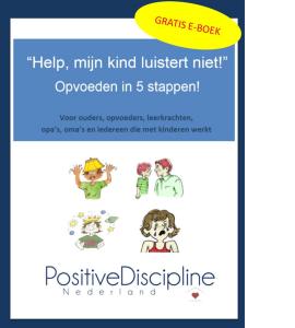 Gratis Eboek 'Help mijn kind luistert niet!'