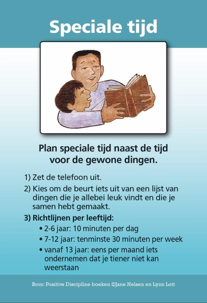 Plan speciale tijd